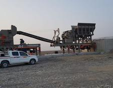 Constmach MOBILE JAW and IMPACT CRUSHER, SUITABLE FOR MIDDLE HARD ROCK PRO