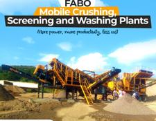 Fabo MOBILE JAW + CONE CRUSHER | 60-100 TPH