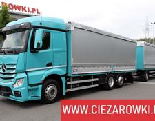 Mercedes-Benz Actros 2542 Set for steel transport , E6 , Retarder + KRONE trai